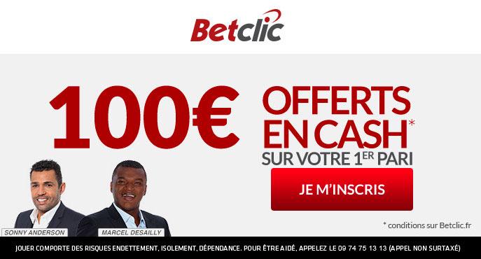 100 € Betclic offerts