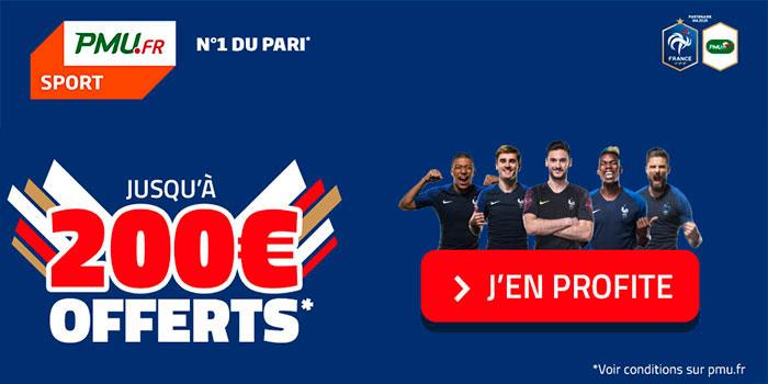 Code promo PMU Sport